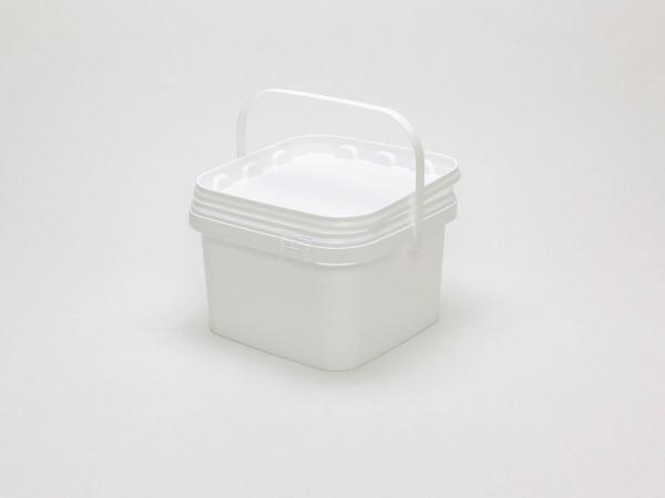 Kunststoffeimer Weiß